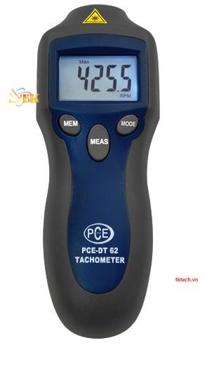 Thiết bị đo vòng quay động cơ PCE-DT62