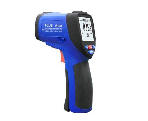 Máy đo nhiệt độ hồng ngoại Flus IR-865 (-50 ~ 1850°C)
