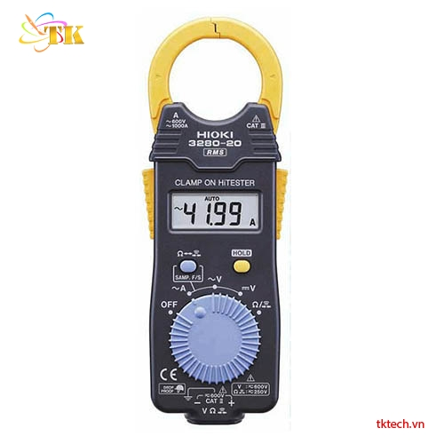 Ampe kìm AC HIOKI 3280-20F 1000A, True RMS | TKTech Co,.Ltd