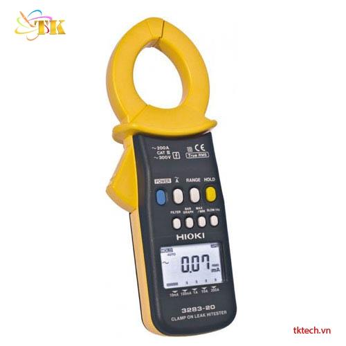 Ampe kìm Hioki 3283-20: Đồng hồ đo dòng rò rỉ Hioki 3283-20 | TKTech.vn