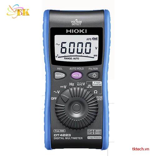 Đồng hồ vạn năng chỉ thị số Hioki DT4223