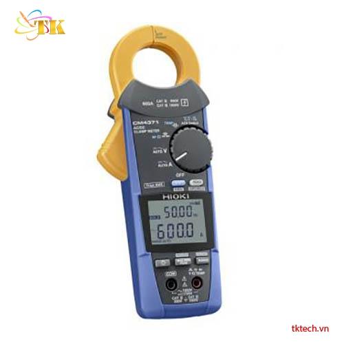 Ampe kìm Hioki CM4371: Đo AC/DC, True-Rms, nhiệt độ-25℃ tới 65℃