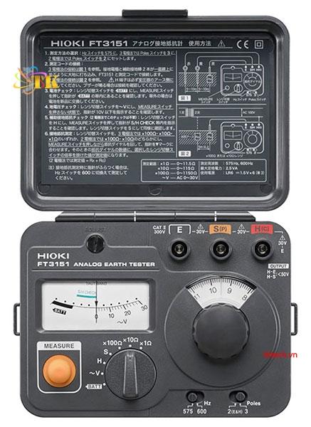 Hioki FT3151 Analog Earth Tester