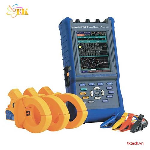 Thiết bị phân tích chất lượng điện Hioki3197