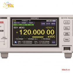 Máy đo kiểm tra Pin lithium-ion Hioki DM7276, Vốn kế DC | TKTech.vn