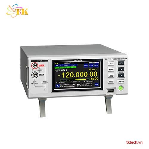Máy đo nội trở pin Hioki DM7275: 5 dải đo