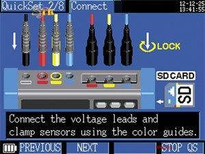 Hioki PW3360-20 - Cài đặt kết nối