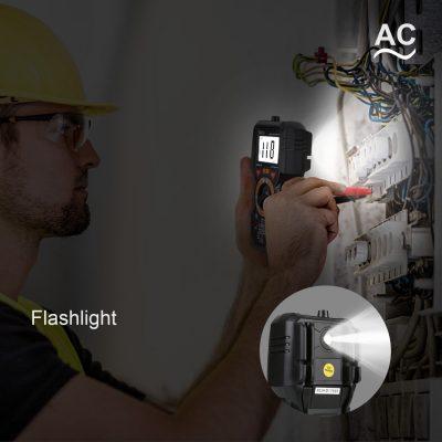 Tacklife Digital Multimeter Flash light
