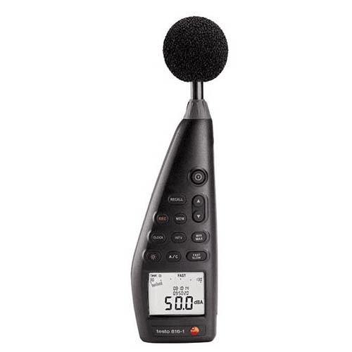 Máy đo độ ồn âm thanh Testo 816-1