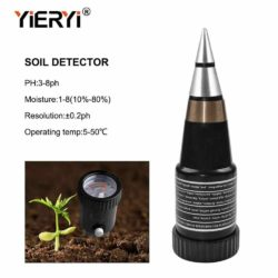 Đo độ ẩm và pH đất 5