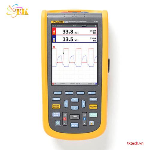 Máy đo dao động Fluke 123B - Máy hiện sóng công nghiệp