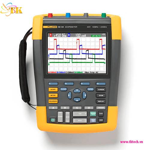 Máy hiện sóng cầm tay Fluke 190-104ScopeMeter®