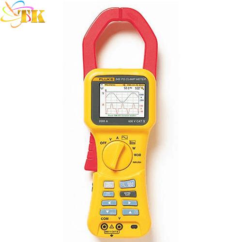 Ampe kìm đo chất lượng điện Fluke 345: