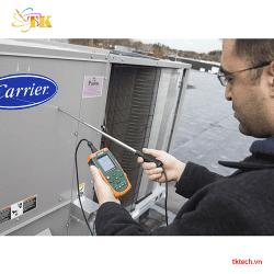 Hand on Máy đo gió nhiệt độ Extech AN500
