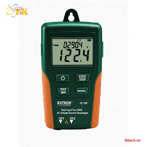 Máy ghi điện áp dòng điện Extech DL160. Máy đo điện áp