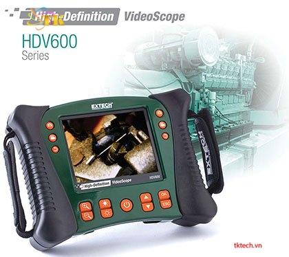 Siêu nét: Máy nội soi công nghiệp Extech HDV600