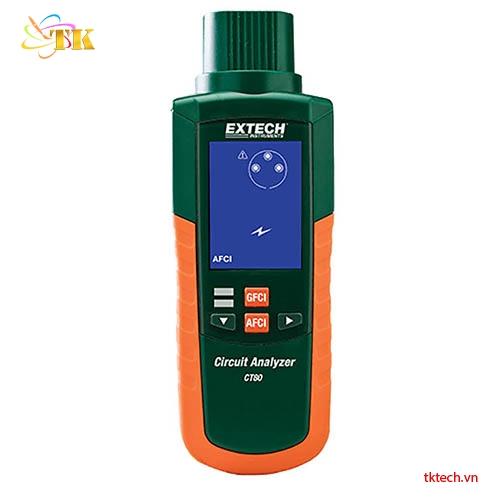 Máy kiểm tra hệ thống điện Extech CT80