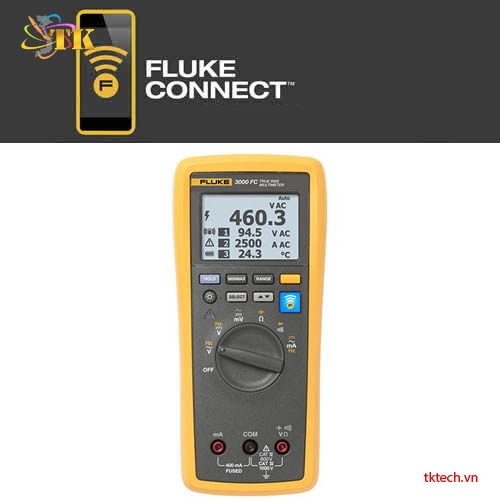 Đồng hồ vạn năng Fluke 3000 FC