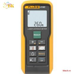 Thước đo khoảng cách Fluke 419D Laser Distance Meter (80 m (260 ft))