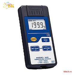 Máy đo nhiệt độ Hioki 3442, Nhiệt kế tự ghi dữ liệu3442-100 - 1300 độ C