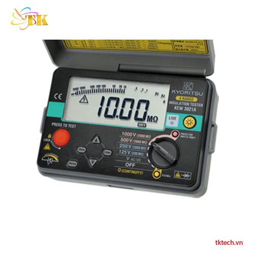 Máy đo điện trở cách điện Kyoritsu 3021A