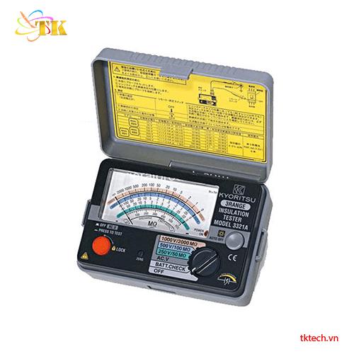 Máy đo điện trở cách điện Kyoritsu 3321A