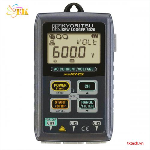 Máy ghi dòng điện điện áp Kyoritsu 5020