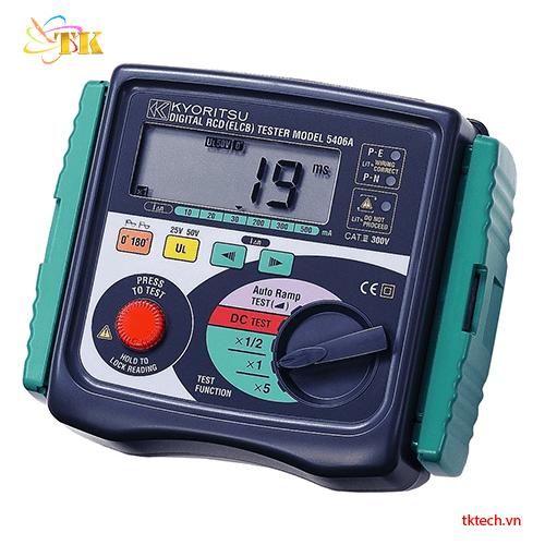 Máy đo dòng rò RCD Kyoritsu 5406A