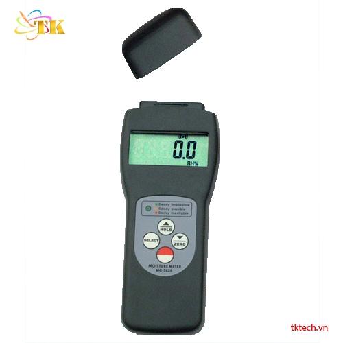 Máy đo độ ẩm gỗ Huatec MC-7825S