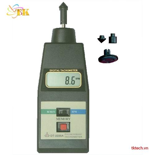 Máy đo tốc độ vòng quay Huatec DT-2235A