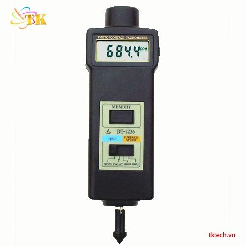Máy đo tốc độ vòng quay DT-2236