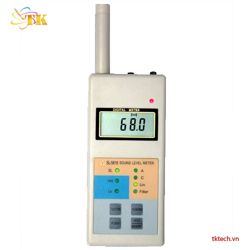 Máy đo âm thanh tiếng ồn Huatec SL-5818
