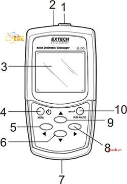 Cách sử dụng máy đo độ ồn Extech SL355