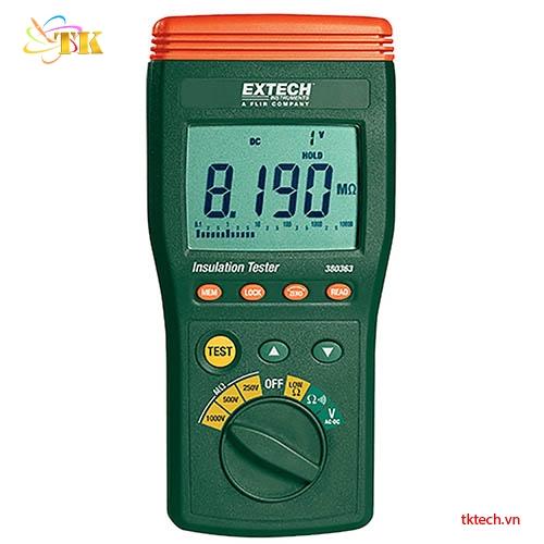 Máy đo điện trở cách điện Extech 380363