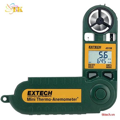 Máy đo nhiệt độ độ ẩm gió Extech 45158