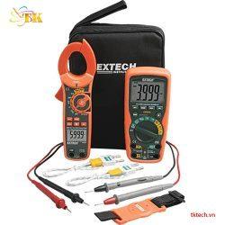 Bộ kit đồng hồ vạn năng, ampe kìm Extech MA620-K