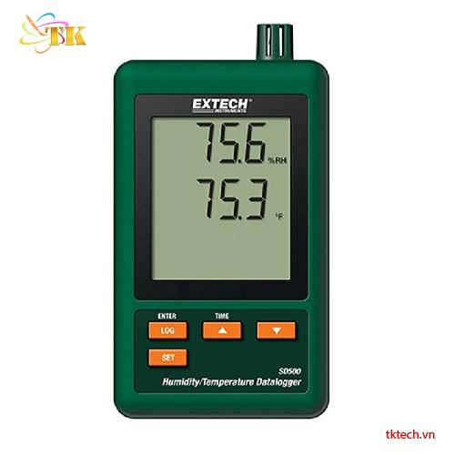 Nhiệt ẩm kế tự ghi Extech SD500