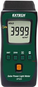 Máy đo năng lượng mặt trời Extech SP505 tính năng