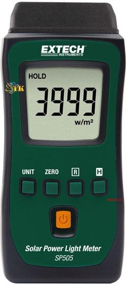 Máy đo năng lượng mặt trời Extech SP505