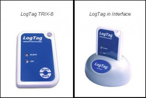 Nhiệt kế tự ghi LogTag TRIX-8