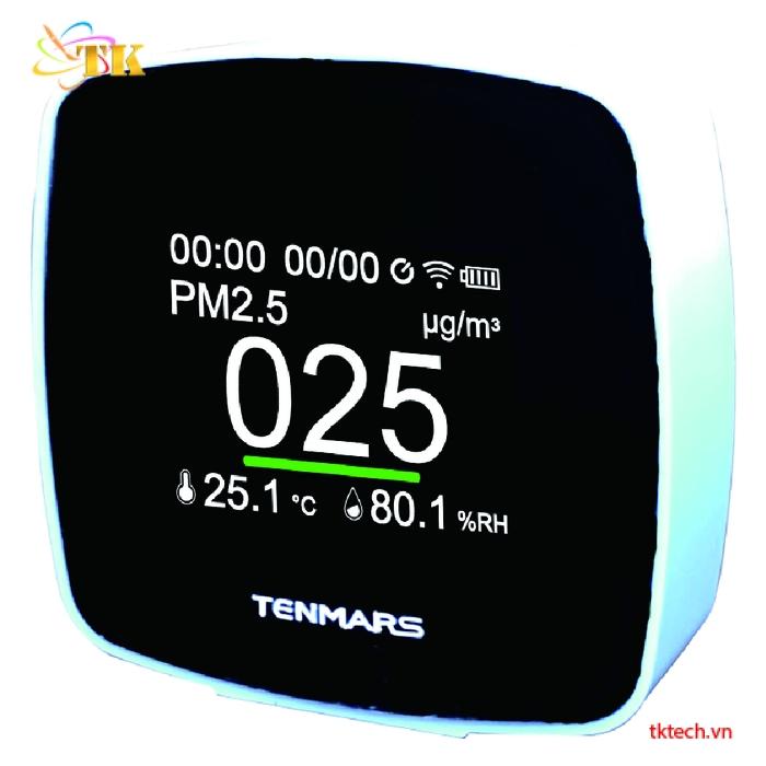 Máy đo nhiệt độ độ ẩm bụi Tenmars TM-280W