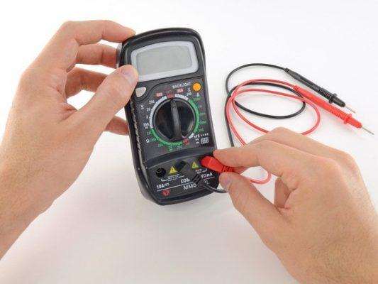 Hướng dẫn sử dụng đồng hồ vạn năng đo điện trở, điện áp, liên tục