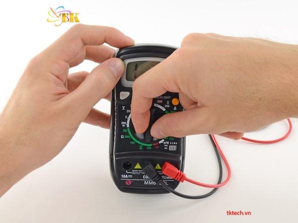 I. Cách sử dụng đồng hồ vạn năng đo liên tục 8