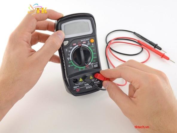 I. Cách sử dụng đồng hồ vạn năng đo liên tục 2