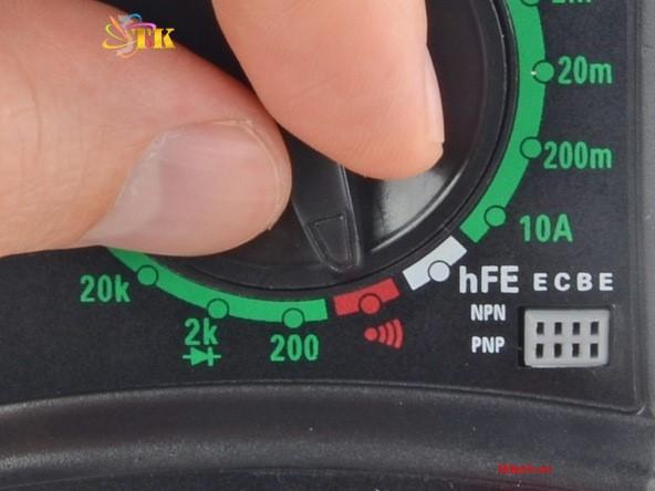 I. Cách sử dụng đồng hồ vạn năng đo liên tục 3