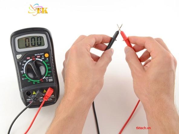 I. Cách sử dụng đồng hồ vạn năng đo liên tục 5