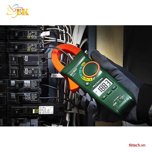 Ampe kìm Extech MA440 đo thử
