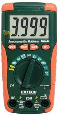 Đánh giá đồng hồ vạn năng Extech MN16A Reviews