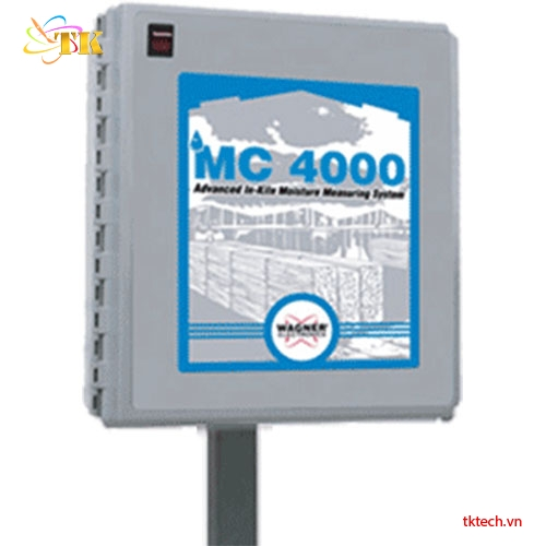 Hệ thống đo độ ẩm gỗ trong lò Wagner MC4000