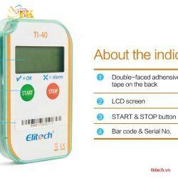 Tính năng Máy đo nhiệt độ Elitech TI-40